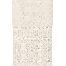Alice + Olivia - Khiara crocheted cotton skirt