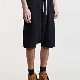 Rick Owens - Rick Owens DrkShdw Men's Drop Crotch Shorts