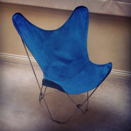 VINTAGE Butterfly Chair aka BKF Chair (Designed 1938)