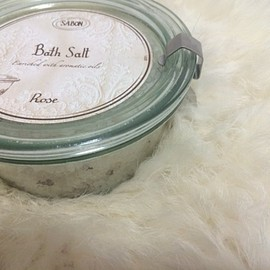 Sabon - bath salt (rose)