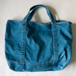 Violet Buffalo Wallows - Denim Tote
