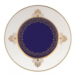 WEDGWOOD - Anthemion Blue Bread & Butter Plate