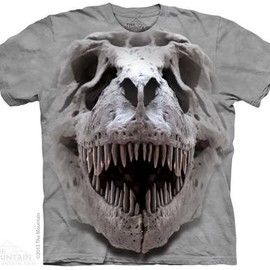THE MOUNTAIN - T-REX BIG SKULL T-SHIRT