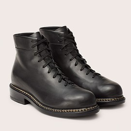 FEIT - BRAIDED LACE UP BOOT