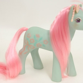 My little pony - Fancy flower   /sweetheart sister ponies(G1)