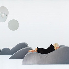 DUNE - DUNE lounge chairs and ottomans