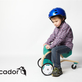 Federico Rios - The Coop - rideable toy