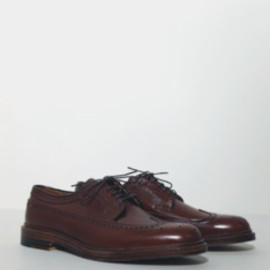 ALDEN - Brown Alpine Grain Long Wing Blucher