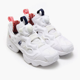 Reebok × ATMOS - INSTA PUMP FURY WHITE/COLLEGE NAVY/CHINA RED