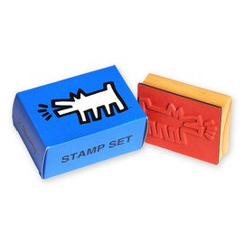 Keith Haring - Rubber Stamp DOG