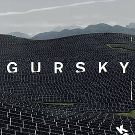Andreas Gursky - NOT ABSTRACT展 ポスター