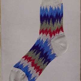 MARCOMONDE - Collection No.07 Uzbekistan crew socks