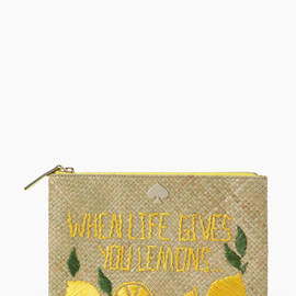 kate spade NEW YORK - VITA RIVA LARGE BELLA POUCH