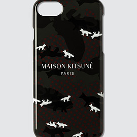 Maison Kitsune - iPhone All-over Camo Fox