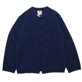 SON OF THE CHEESE - Alpaca china sweter NAVY