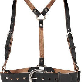 Zana Bayne - Leather harness