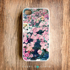 casesbycsera - Unique iPhone Case, iPhone 4 Case, Floral Phone 4 Case Flower Case, Photograph iPhone 4, Christmas Gift Ideas