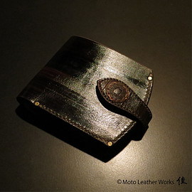Moto Leather Works 佳 - Leather wallet