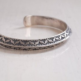 Navajo / Gary Reeves - Stamp Bangle