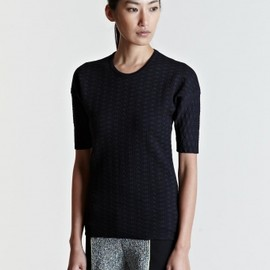 PIECE D'ANARCHIVE - ピエスダナルシーヴ(PIECE D'ANARCHIVE)Knitted T-Shirt