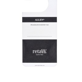 retaW - FRAGRANCE ROOM TAG ALLEN*