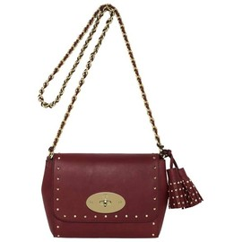 Mulberry - Lily with Tassels in Black Forest Soft Matte Leather