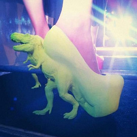 Awkward Collection - T-Rex heels