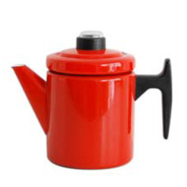 Finel - Red Coffee Pot(S) Designer Antti Nurmesniemi