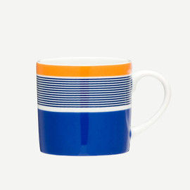 THE CONRAN SHOP - FELIX SAPHIRE/NAVY/ORANGE STRI