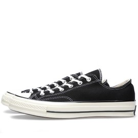 Converse - First String 1970s Chuck Taylor Ox Black/White