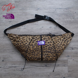 THE NORTH FACE PURPLE LABEL - LEOPARD PRINT Wrap Bag