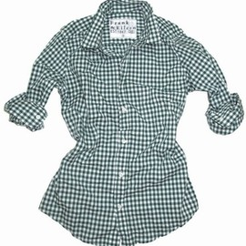 Frank & Eileen - BARRY  Green Gingham