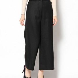 Edition - wool wide pants