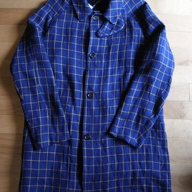 "Fil Melange - WARREN ""Navy Windowpane"""