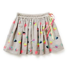 Girls Skirts | Sequin Heart Skirt | Seed Heritage