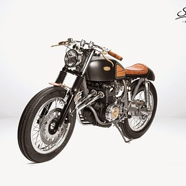"Honda - CB400FOUR 408cc ""Hyle"" by South Garage Motorcycles"