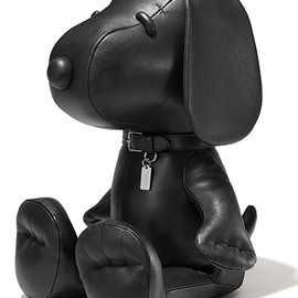 COACH+PEANUTS - Leather Snoopy Doll