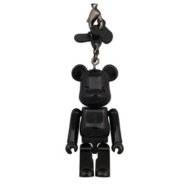 MEDICOM TOY - Birthday BE@RBRICK NOIR BLACK CHROME
