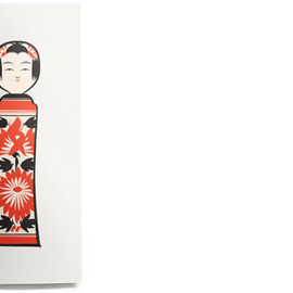 House Industries - Kokeshi Print No. 2