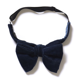 UNITED ARROWS - Velour Bow Tie