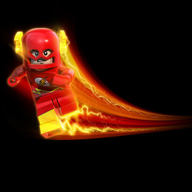 DC Comics, Lego - The Flash Minifigure Lego Batman Series