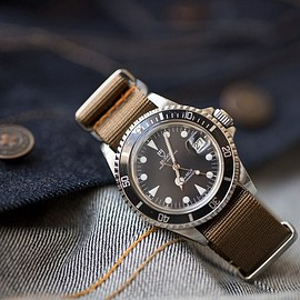 NYC NATO Horween Strap - Olive