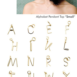 by boe - Aiphabet pendant top