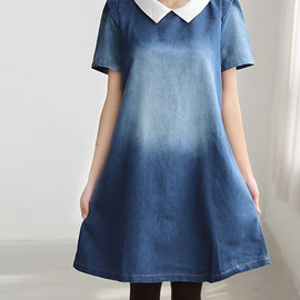 MaLieb - Lovely doll dress/ cotton tunic knee length dress