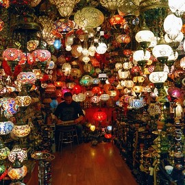 Istanbul - The lamps seller - The Grand Bazaar
