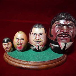 morisaku matryoshka doll - pulpfiction matryoshka doll