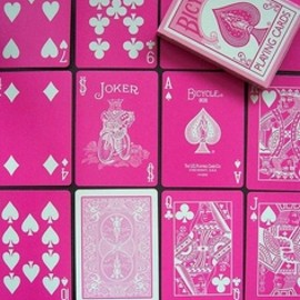 card, pink