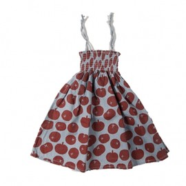 Bobo Choses - Dress/Skirt Smoke With Multi Tomatoes