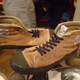 "vans - 「<used>80-90s vans NATIVE AMERICAN beige""made in USA"" size:US9(27cm) 11800yen」完売"