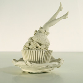 Rebecca Wilson Ceramics - Have your Cake and Eat It